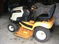 tracteur a pelouse cub cadet