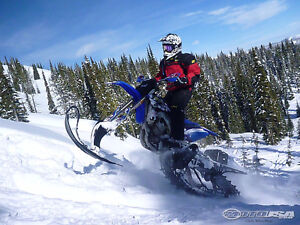 Dirt bike/snow bike for sale
