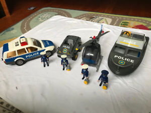 Playmobil Police Vehicle Set
