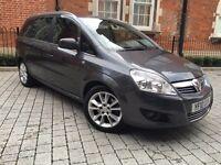 Vauxhall Zafira 1.9 CDTi 16v Design 5dr++1 owner++