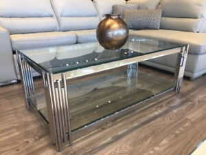 GLAM COFFEE TABLES - VARIOUS DESIGNS - STARTS FROM $399