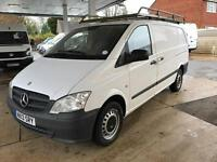 2013 MERCEDES BENZ VITO 2.1 116CDI Long Panel Van 5dr EU5