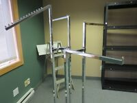 4 tier clothing rack