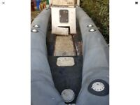 Pacific 28ft rib boat and trailer