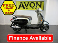Sym Fiddle 125cc III 125 Scooter, Commuter Scooter Automatic Motorcycle Twist an