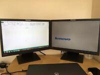 Mointor lcd x2 Lenovo