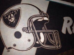 NFL Oakland Raiders team pennant. Gatineau Ottawa / Gatineau Area image 2