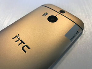 HTC ONE M8 32GB GOLD - UNLOCKED - 10/10 NEW - SALE