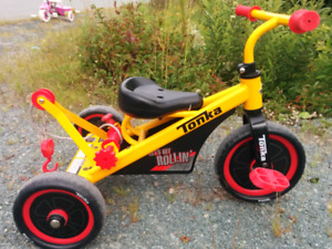 Tonka tricycle, excellent condition, $20 obo