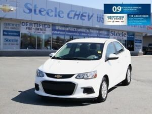 2017 CHEVROLET SONIC LT - Gas Sipper with 0.9% Financing!!
