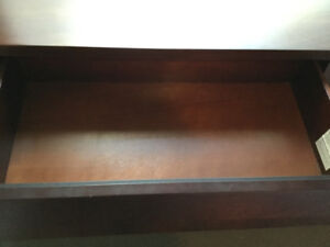 Solid Wood 6 Drawer Dressers (2)