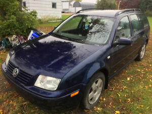 2003 VW Jetta TDI Station Wagon in Shellbrook