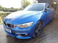 2015 BMW 4 Series 3.0 435d M Sport Auto xDrive 2dr Convertible Diesel Automatic