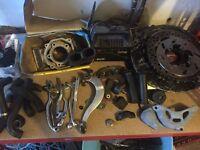 Job lot of dirt bike parts