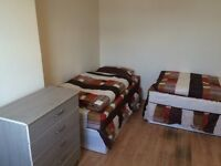 Nice twin room -share or private- to rent in Devons Road, all bills included, Free Wifi, ID:539