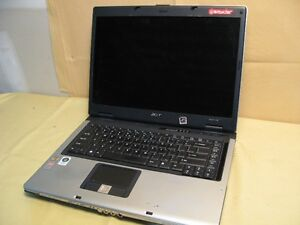 2 old laptops no HD or power adapter Acer 5100 HP DV 9000