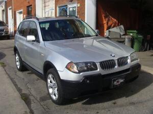 2005 BMW X3 AWD VUS CUIR BANCS CHAUFFANTS