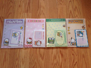 HELLO KITTY Letter and Mail Stationary (8 packs)