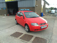 2008 CHEVROLET 1.2 KALOS SE 5 DOOR WITH ONLY 66000 MILES