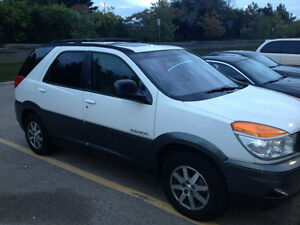 2003 Buick Rendezvous White/grey SUV, Crossover