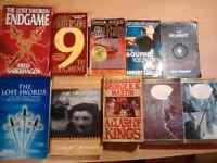 Selling 10 Various Novels for $1 Each!