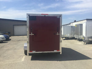 6' x 10' V-Nose Cargo Trailers •3 Year Warranty • Made in Canada London Ontario image 5