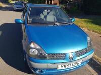 2001 Renault Clio 1.2 16v Expression + 1 yr mot