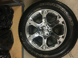 MOVING NEED GONE ASAP! Dodge Laramie Rims and Tires