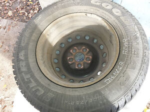 Goodyear Ultra Grip Winter Tires and Rims 205/75/R14