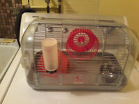 Multiple hamster cages, and accesories,