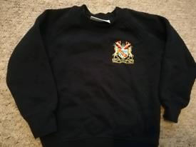 FREE 3 x school jumpers/bag/sweatshirts/uniform/baby/kids clothes