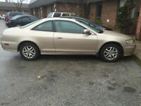 2002 Honda Accord EX-L Coupe (2 door)