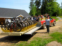 """Truck Driver"" wanted for bike shuttles ($12/h) in Antigonish"
