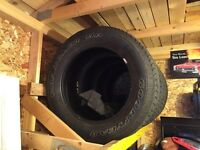 Set of 275/60R20s from Dodge Ram !