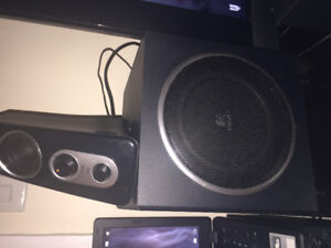 $70 Logitech Speakers with awesome Bass!!