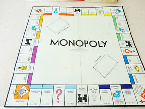 Vintage 1961 Monopoly Board Game (With some bonus other money) Kitchener / Waterloo Kitchener Area image 2