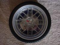 Tire Clock For Garage or Workshop