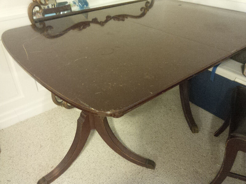 Antique Dining Set Made In Ontario Dining Tables And
