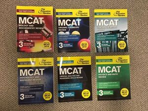 MCAT 2015 Full Set - The Princeton Review
