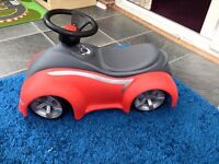 Little tikes sporty coupe ride on foot to floor car (only used indoors)