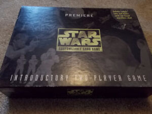 Star Wars Premiere Customizable Card Game 1995 - Parker Brothers