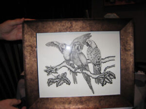 CANVAS PAINTING - CANVAS LITHO PAINTING - PENCIL SKETCHED