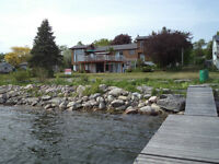 WATERFRONT PARADISE ON THE BAY OF QUINTE