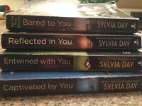 4 books from Crossfire series by Sylvia Day