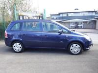 Vauxhall/Opel Zafira 1.6i 16v ( a/c ) Life MPV 7 Seat 5 Door Hatch Back