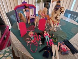 Barbie Stable set