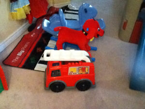 Clifford the Dog Riding toy