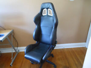 Custom Racing Seat Office Chair! One of a kind ! Kitchener / Waterloo Kitchener Area image 2