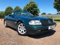 1996 MERCEDES-BENZ SL 280 AUTOMATIC CONVERTIBLE
