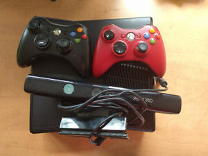 $100 OBO Xbox 360 with 20+ Games and 2 Controllers